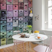 Fototapet Colour boxes, personalizat, Rebel Walls