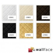 Panou decorativ LEATHER 15036, WallFace, autocolant