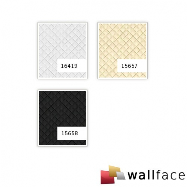 Panou decorativ LEATHER 15658, WallFace, autocolant