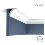 Cornisa Flex Axxent CX109F, Dimensiuni: 200 X 4.4 X 4.4 cm, Orac Decor