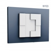 Panel Modern W103, Dimensiuni: 33.3 X 33.3 X 2.5 cm, Orac Decor