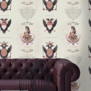 Tapet designer The Empire Coats of Arms, MINDTHEGAP