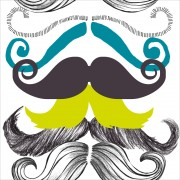 Tapet designer Illusions Different Moustaches, MINDTHEGAP